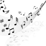 2761211-musical-notes-background-with-lines-vector-illustration